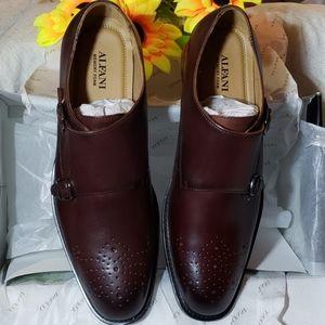 Men's Alfani monk strap shoes
